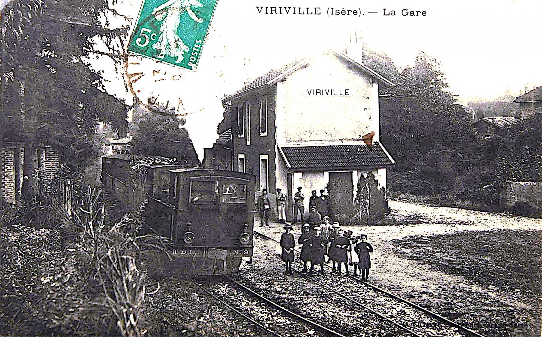 Viriville - La Gare