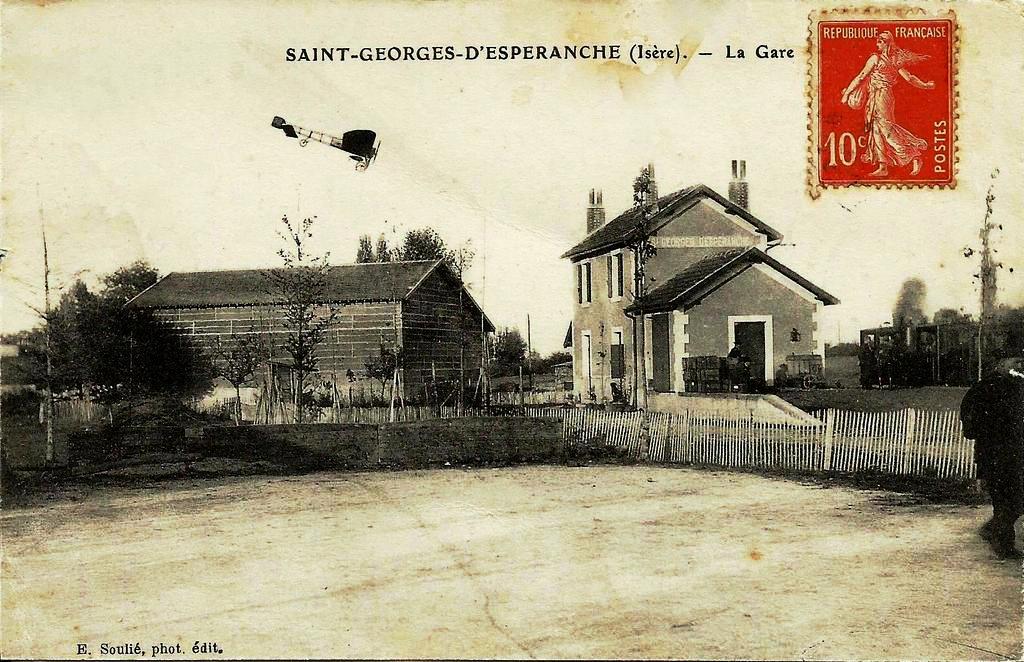 Saint-Georges d'Espéranche - La Gare