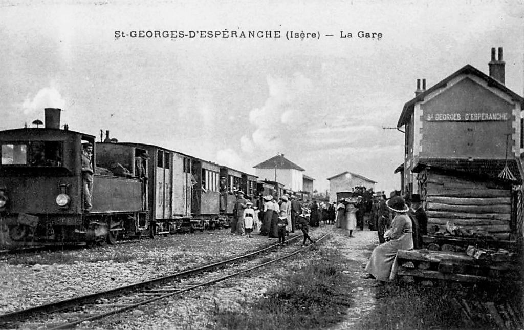 Saint Georges d'Espéranche - La Gare