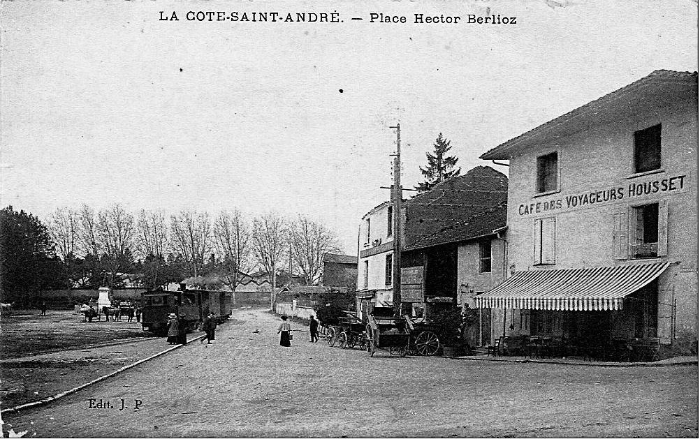 La Cote Saint-André - Place Hector Berlioz